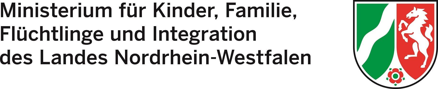 Logo des Ministeriums für Kinder, Familie, Flüchtlinge und Integration des Landes NRW