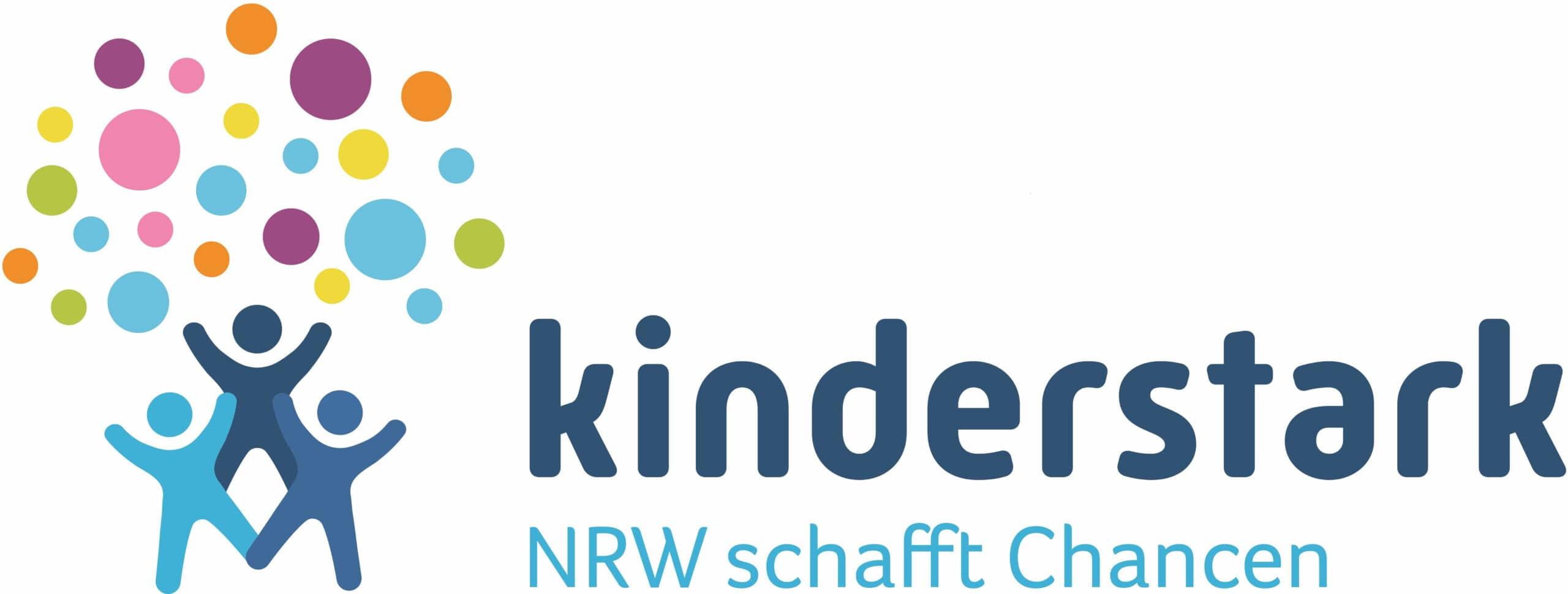"""Logo von """"Kinderstark - NRW schafft Chancen"""""""