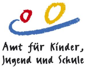 Logo des Amts für Kinder, Jugend und Schule