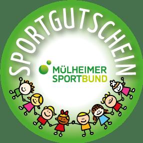 "Logo ""Sportgutschein"" des Mülheimer Sportbunds"