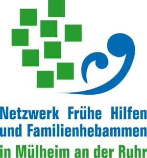 Logo des Netzwerks Frühe Hilfen und Familienhebammen Mülheim
