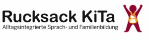 Logo Rucksack KiTa – Alltagsintegrierte Sprach- und Familienbildung