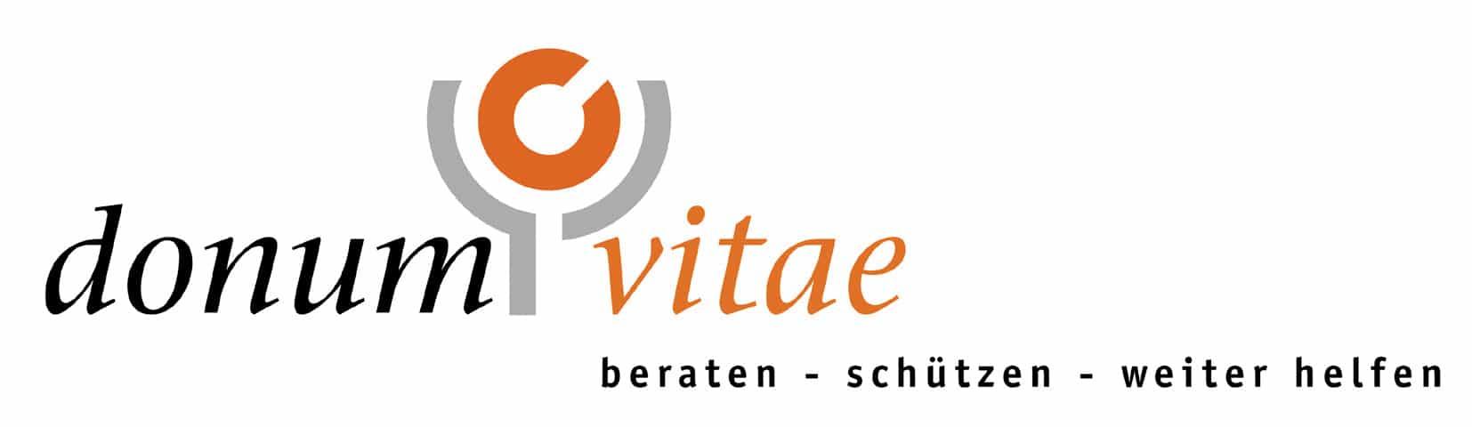 Logo der Schwangeren-Konfliktberatungsstelle Donum Vitae